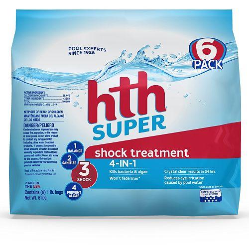 cloro de choque para piscina hth